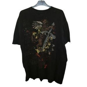 APT 9 Graphic Tee Shirt XXL